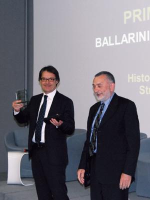 Angelo Ballarini e Mario Magagnino