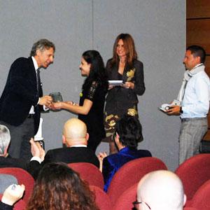 Cesare Avanzi (IFI Spa) e gli studenti dell'Equipe dell'Osservatorio