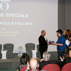 Leo Menozzi (Marenostrum Srl) e gli studenti dell'Equipe dell'Osservatorio