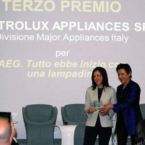 Michela Diffidento (Electrolux Spa) e Tiziana Sartori
