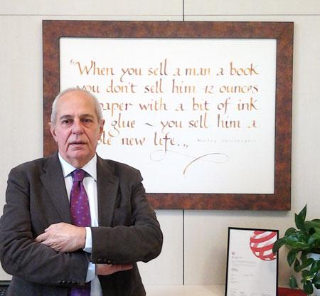 Alesandro Fedrigoni, Presidente delle storiche, omonime cartiere