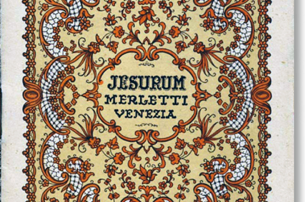 Copertina della monografia Jesurum