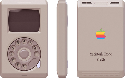 Il MacPhone immaginato da Pierre Cerveau