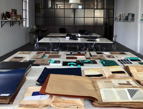 Gli archivi d'impresa come palestra creativa: l'Atelier ICMA carta d'autore dal 1933