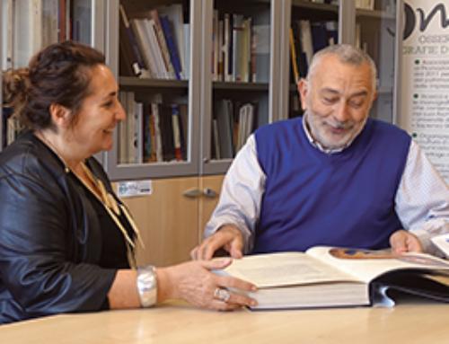 La responsabile dell'Ufficio Stampa della  federazione Tabaccai in visita l'Osservatorio