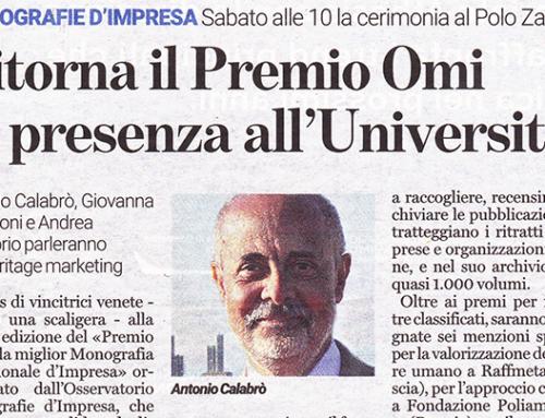 Ritorna il Premio OMI in Presenza All'Università di Verona