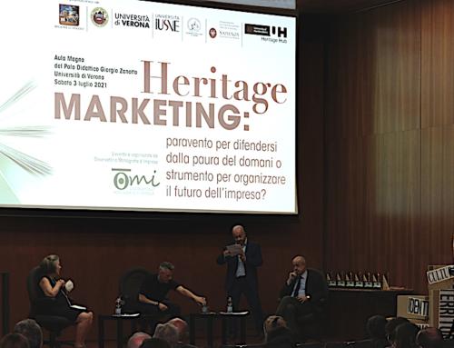 Heritage Marketing: video tavola rotonda 3 luglio 2021