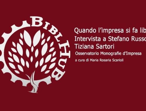 Intervista di BiblHub di Sapienza Università di Roma a Tiziana Sartori e Stefano Russo